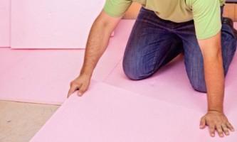 Технології утеплення підлоги і перекриттів пінопластом і екструдованим пінополістиролом