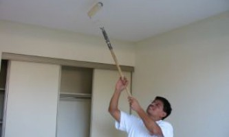 Технологія фарбування стелі - корисні поради та рекомендації фахівців