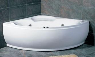 Кутова ванна заощадить місце