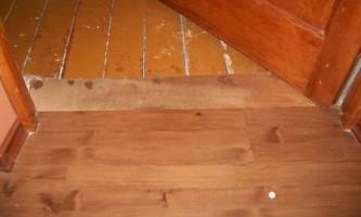 Укладання ламінату на дерев`яну підлогу: правила монтажу