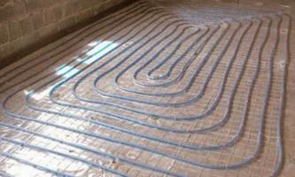 Укладання теплої підлоги: технологія