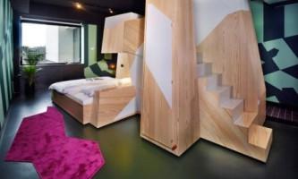 Унікальний інтер`єр номера готелю в амстердамі підкорює своєю оригінальністю