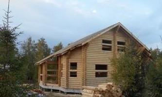 Послуги з будівництва будинків з оциліндровки в калузької області