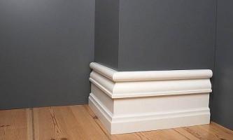 Встановлюємо високі плінтуса для підлоги