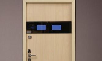 Вхідні двері з дисплеєм