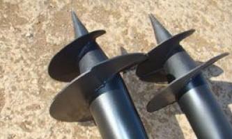 Гвинтові палі або стрічковий фундамент - що вибрати