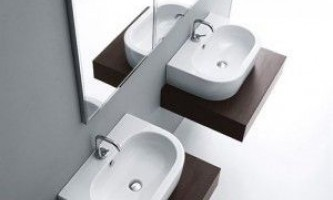 Вибір і монтаж вбудованих і підвісних раковин у ванній кімнаті своїми руками