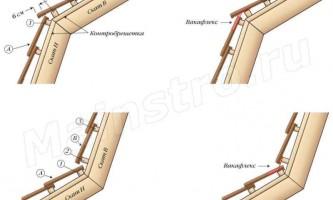 Покрівлі з натуральної та цементно-піщаної черепиці: мансардний перелом черепичної покрівлі