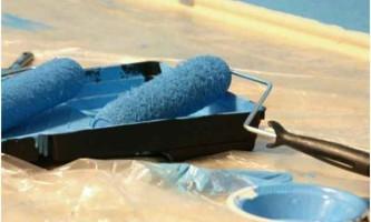 Водоемульсійна фарба для стелі: характеристика, види і поради при виборі